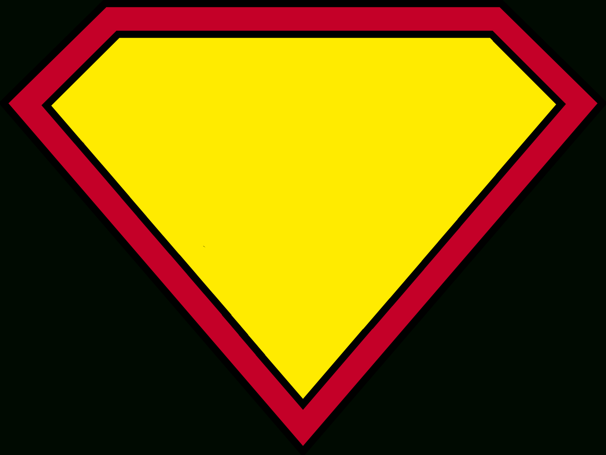 Blank Superman Logos Inside Blank Superman Logo Template