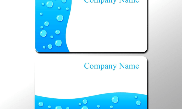Business Card Photoshop Template Psd Awesome 016 Business with Blank Business Card Template Photoshop