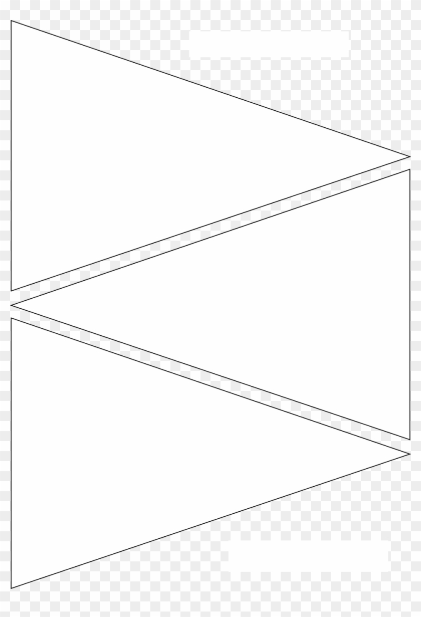 Delicate Printable Pennant Banner Template Free | Coleman Blog With Triangle Banner Template Free
