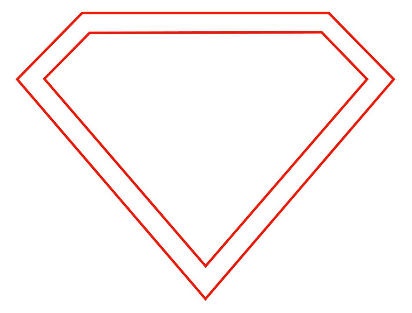 Free Empty Superman Logo, Download Free Clip Art, Free Clip Throughout Blank Superman Logo Template