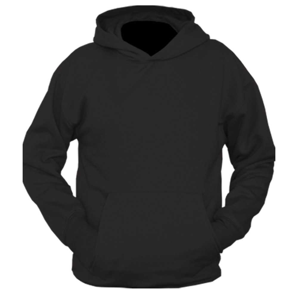 Hoodie Template Front Transparent Png Clipart Free With Blank Black Hoodie Template Best Professional Template Di 2021 Kaos Desain Medis