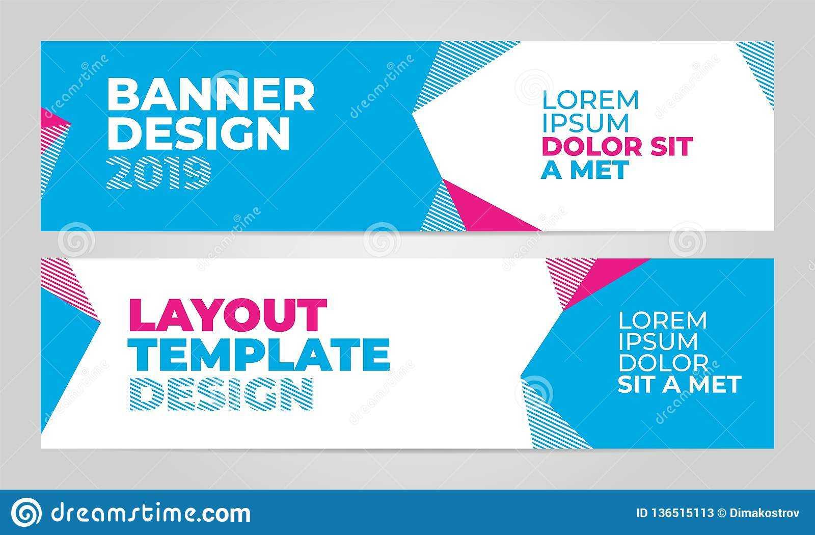 Layout Banner Template Design For Winter Sport Event 2019 Regarding Event Banner Template