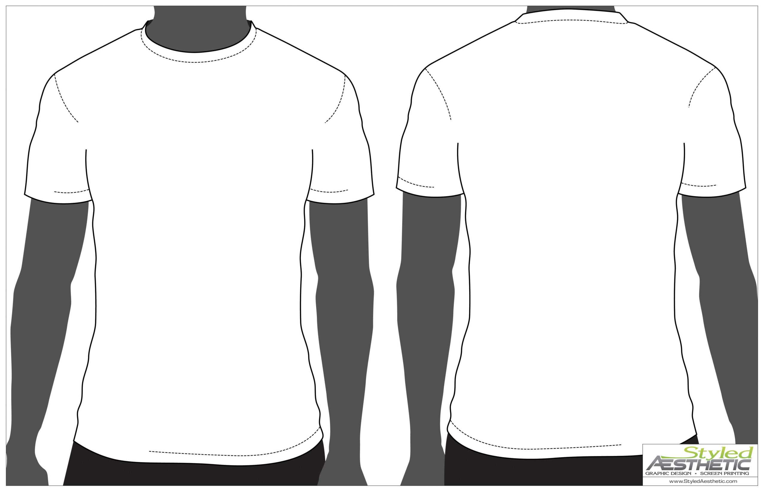 Outline Of A T Shirt Template | Free Download On Clipartmag Inside Blank Tshirt Template Printable