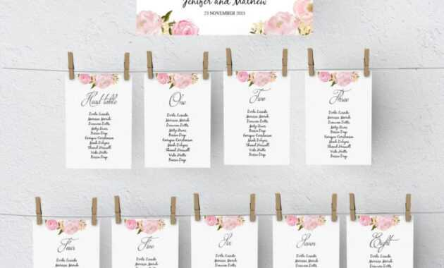 Seating Chart Template Wedding - Milas.westernscandinavia within Wedding Seating Chart Template Word